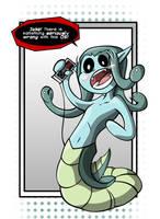 Modest Medusa Fanart