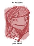 Daily Sketch 9: Aki Akuyama