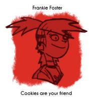 Daily Sketch 32: Frankie Foster by kingofsnake