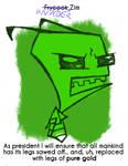 Daily Sketch 39: Invader Zim