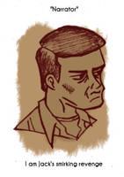 Daily Sketch 59: Unnamed Narrator by kingofsnake