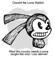 Daily Sketch 60: Oswald by kingofsnake