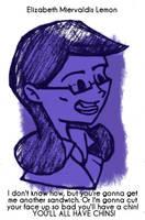 Daily Sketch 61: Liz Lemon by kingofsnake