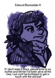 Daily Sketch 74: Blackadder