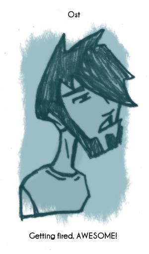 Daily Sketch 80: Ost by kingofsnake