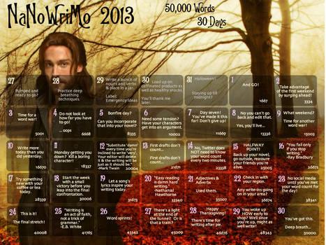 NaNoWriMo 2013 Wallpaper
