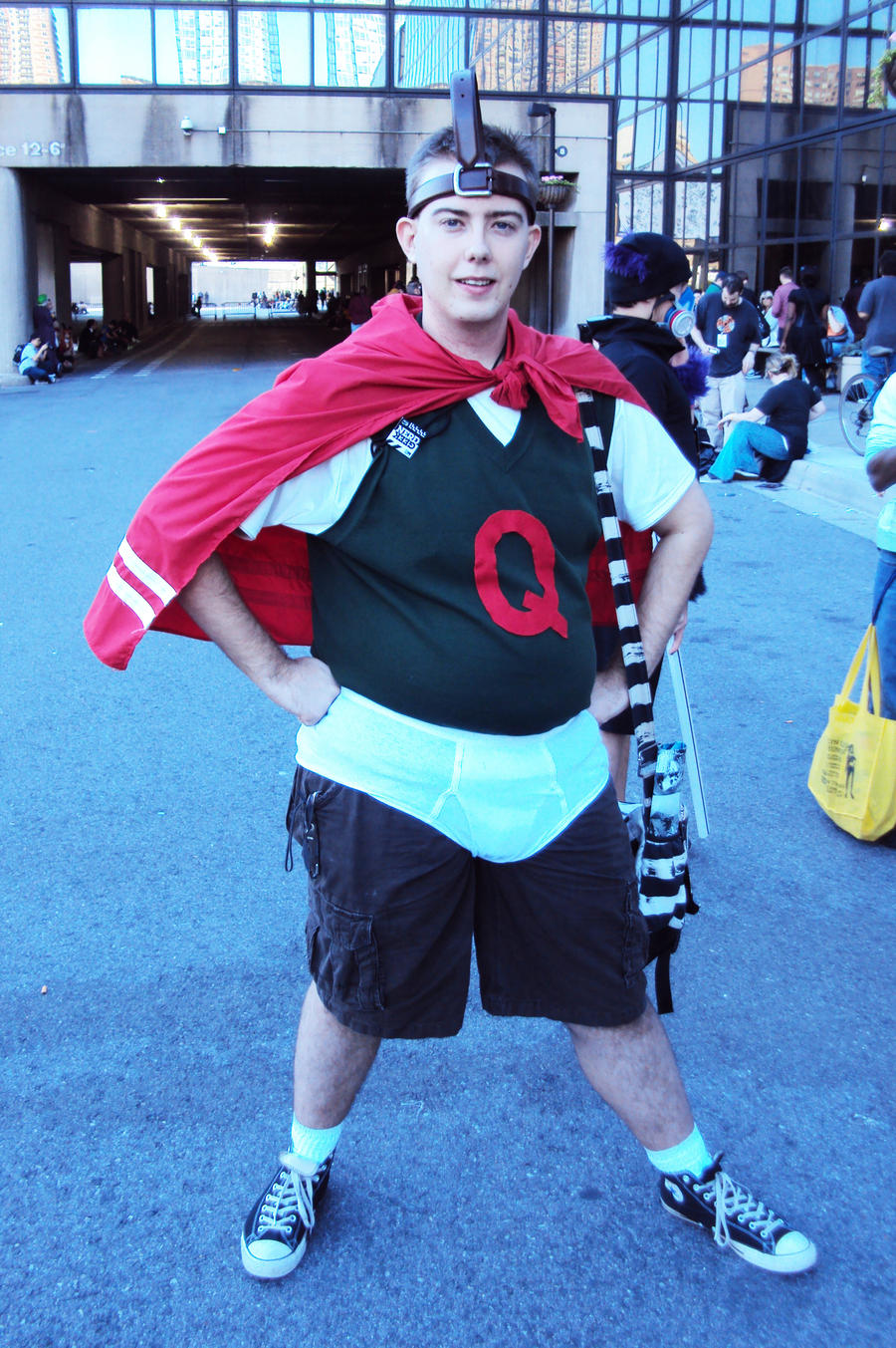 Quail Man - Viewing Gallery Quailman Doug Costume