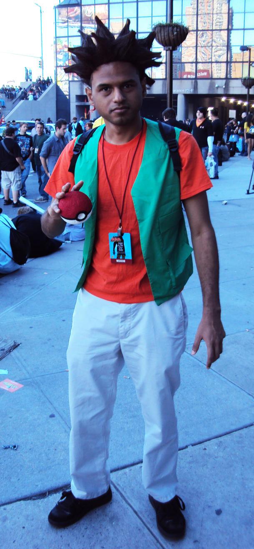 NYCC '10: Brock Cosplay by PanicPagoda on DeviantArt