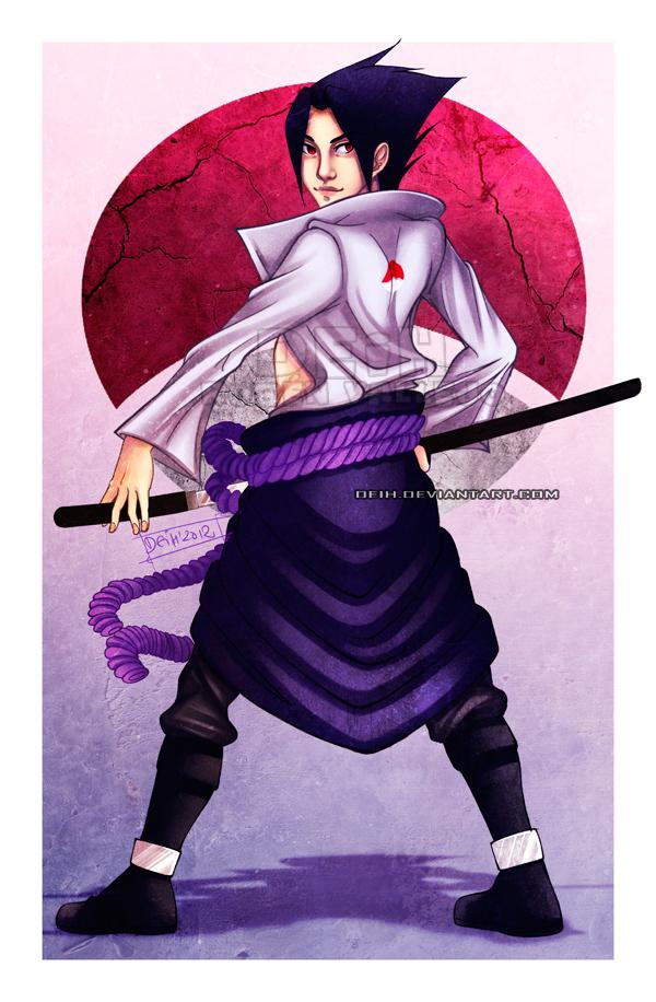 Sasuke Uchiha by Deih