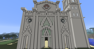 Minecraft - Florence Cathedral Facade