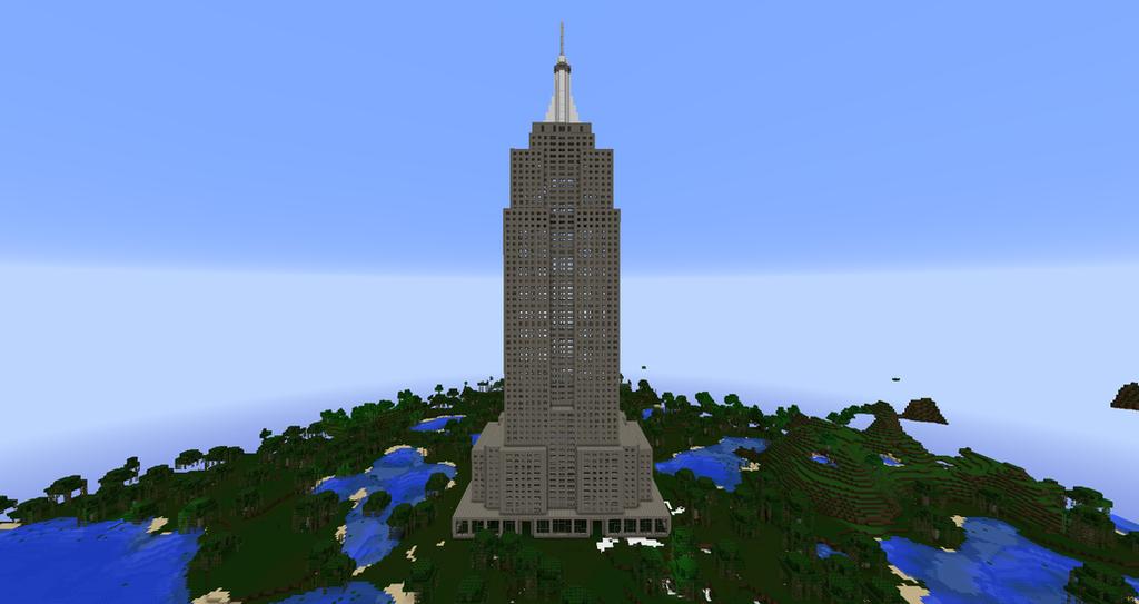 Empire State Building Minecraft Pocket Edition