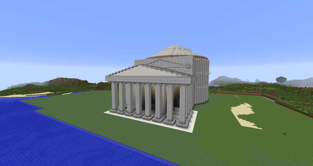 Greek Architecture Minecraft minecraft - the pantheon picture, minecraft - the pantheon image