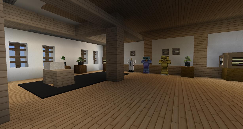 Minecraft Armour Room Design