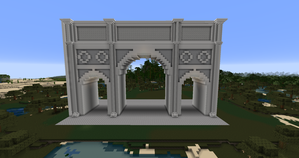 Minecraft Arch Of Constantine By MinecraftArchitect90 On