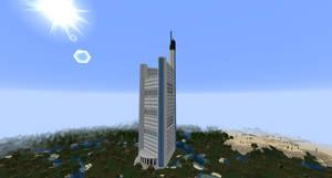 Minecraft - Commerzbank Tower by MinecraftArchitect90