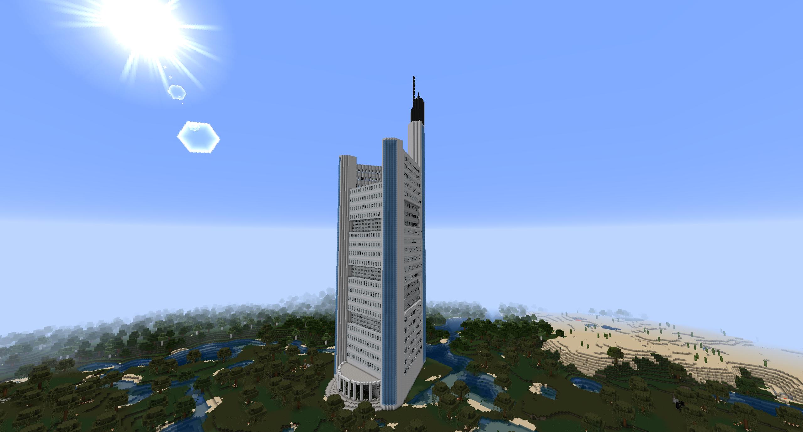 Minecraft Commerzbank Tower By Minecraftarchitect90 On