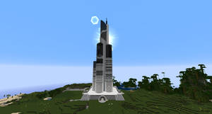 Minecraft - Azerbaijan Tower by MinecraftArchitect90