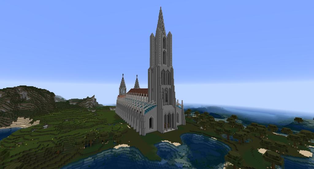 Minecraft - Ulm Minster by MinecraftArchitect90 on DeviantArt