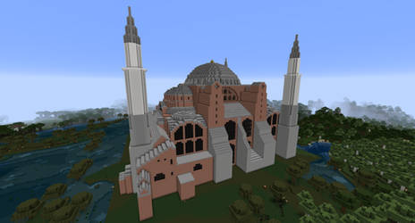 Minecraft - The Hagia Sophia by MinecraftArchitect90