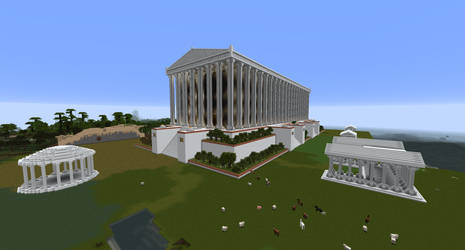 Minecraft - Temple of Artemis Redone