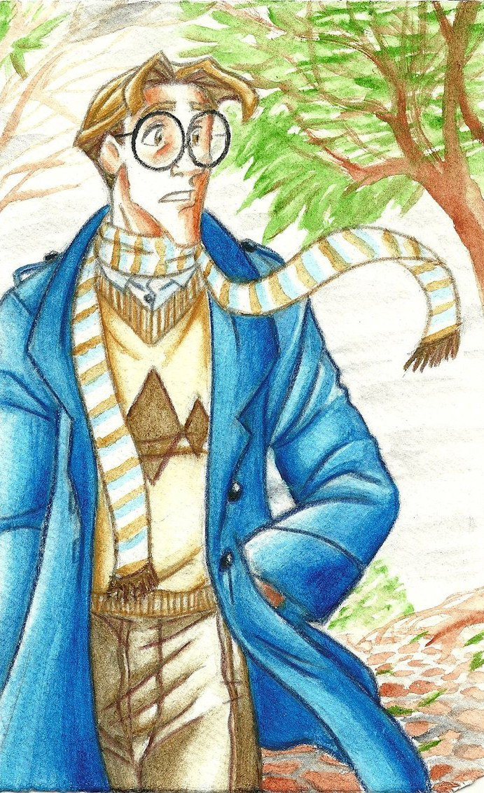 Milo Thatch in winter by KN-KL