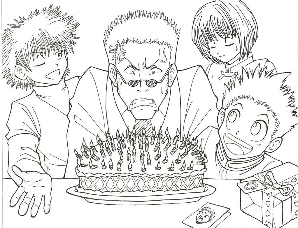 This is an image of Comprehensive Birthday Coloring Pages For 41 Year Old Male
