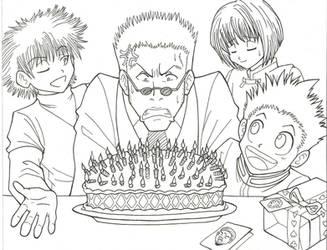 Happy birthday, old man! by KN-KL
