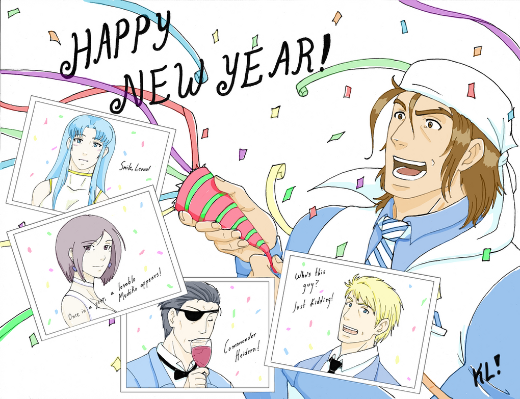 Ikari Happy New Year 2016 by KN-KL