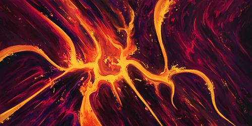 Lava Burst [Collab] by ZachGFX