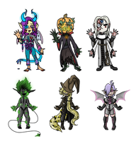 Spooky Collab Adopts (3/6 OPEN) by KingsDreamAdopts
