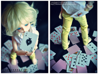Are you the Ace or the Joker? I by ForeverResin