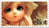 Elliot Fan Stamp by ForeverResin