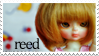 Reed Fan Stamp by ForeverResin