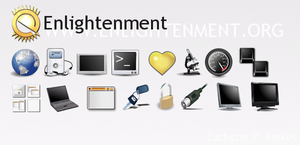Enlightenment icons