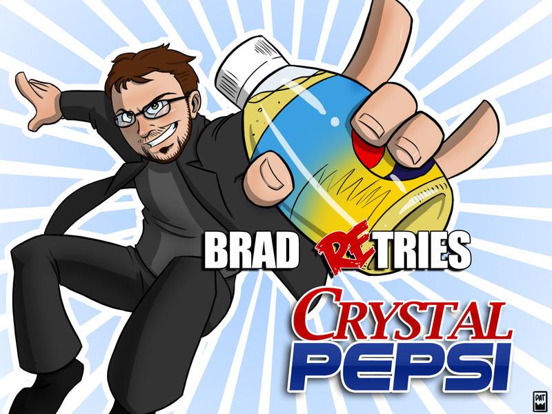 Brad Re-Tries Crystal Pepsi TC by Pyrotech07