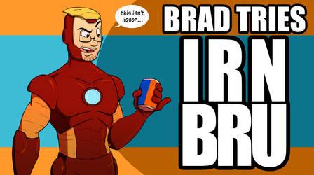 Brad Tries Irn Bru