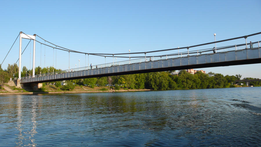 Pedestrian bridge in Penza by AngelWZR