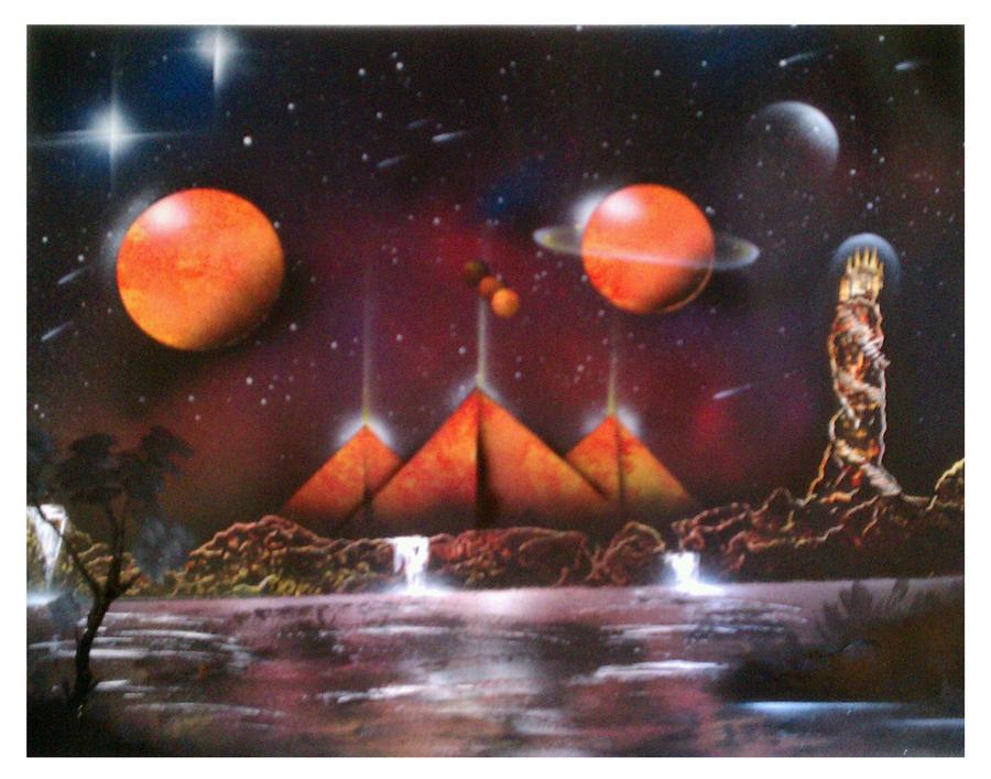 kingdom of the Gods by SKELVAMPIRE