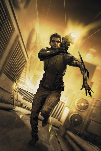 What are you listening to right now? Adam_jensen_by_shobeyr-d4a6ei3