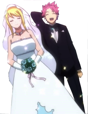 Natsu and Lucy : 3 [marriage] by HinamoriMomo21 on DeviantArt