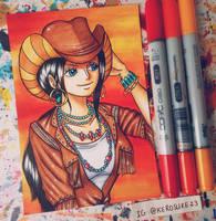 Happy Birthday Nico Robin by kerosuke23