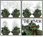 sick Plague Marine