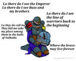 Space Wolves Chant