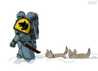 Raising the Wolves by TechmagusKhobotov