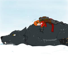 Fluffy Thunderwolf by TechmagusKhobotov
