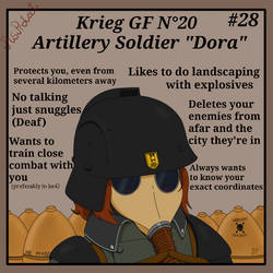 Artillery Soldier Dora
