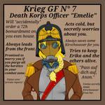 Death Korps Officer Emelie