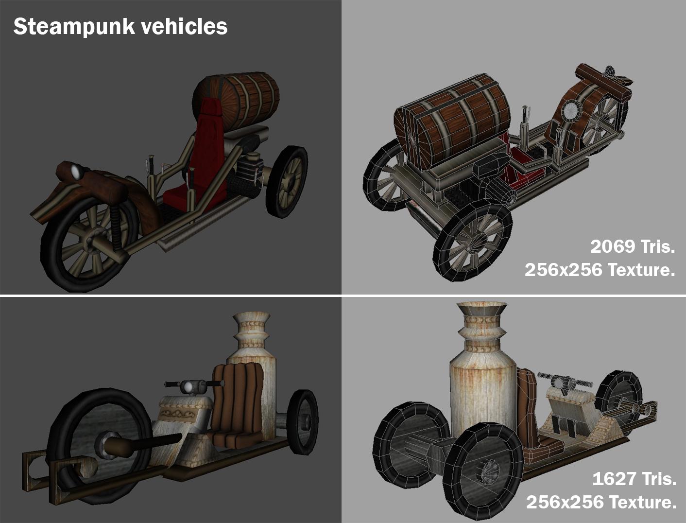 Steampunk Vehicles By Gastvelezkeith On Deviantart