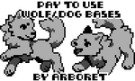 Pay to Use - Wolf / Dog Icon Bases