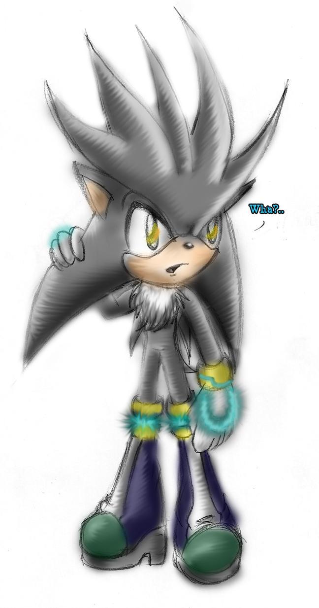 silver the hedgehog by mirandatheicefox on deviantart